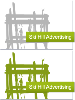 Ski Hill Advertising